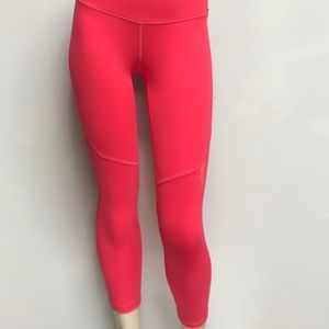 b1dcfa4377 PINK Victoria's Secret Pants - vs knockout by victoria sport capri Cosmic  Coral